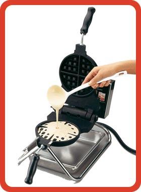 Waffle Iron Image Flour Mix